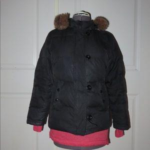 Gap Black Puffer Jacket . Size PM